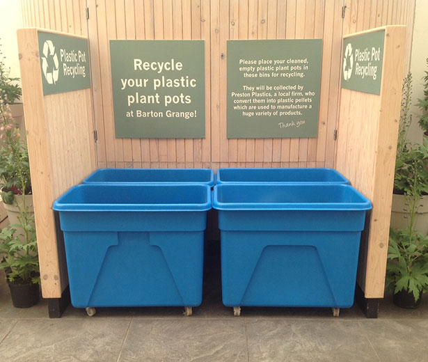 Where to recycle garden plastic #2 Garden centres \u2013 Gardening without Plastic & Where to recycle garden plastic #2: Garden centres \u2013 Gardening ...